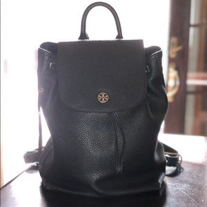 Tory Burch backpack black leather